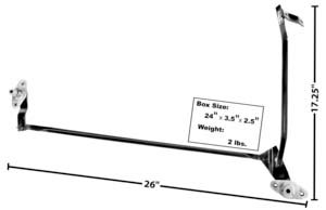 Amazon.com: 70-73 Camaro Wiper Transmissions & Arms (W