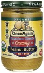 Once Again Peanut Butter American Classic Smooth -- 16 oz