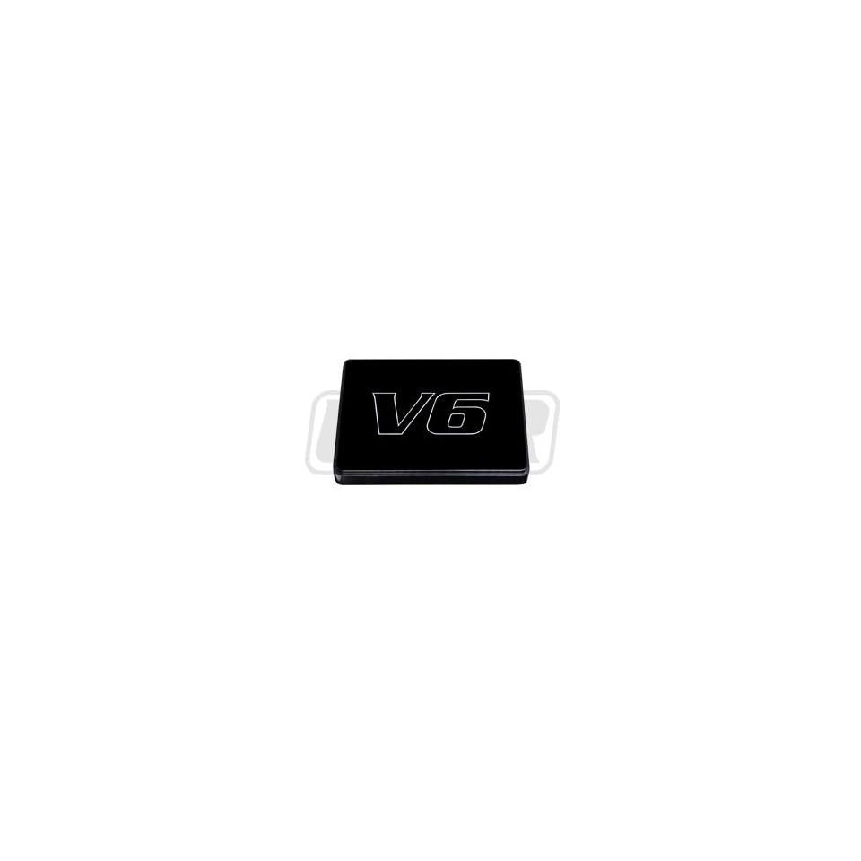 medium resolution of 98 04 mustang black billet fuse box cover with v6 engraving