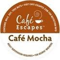 Cafe Escapes Cafe Mocha 96 K-Cups for Keurig Brewers