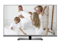 Toshiba 40TL963G 101,6 cm (40 Zoll) 3D LED-Backlight-Fernseher, Energieeffizienzklasse A+ (Full-HD, 200Hz AMR, DVB-T/C/S2, CI+, DLNA, Web-TV) silber