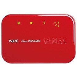 日本電気 モバイルWiMAXルータ AtermWM3500R マーズレッド PA-WM3500R(AT)R