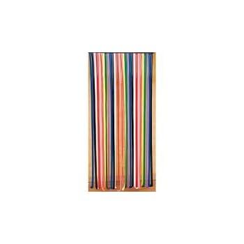 pas cher rideau de porte lanieres plastique multicolore magasin rideau