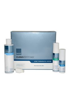 Obagi-Clenziderm-MD-Acne-Therapeutic-System-Kit-Normal-to-Dry-Skin-by-Obagi-for-Women-3-Pc-Kit-65oz-Daily-Care-Cream-Cleanser-16oz-Therapeutic-Lotion-17oz-Therapeutic-Moisturizer