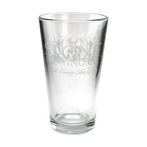 stone pint glass