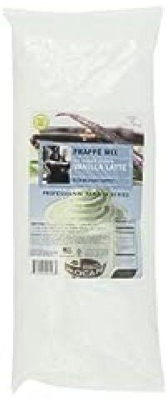 MOCAFE Frappe Vanilla Latte, No Sugar Added Ice Blended Coffee, 3-Pound Bag