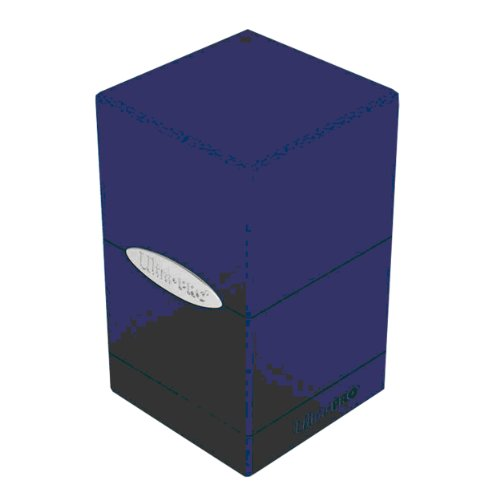 Ultra Pro Satin Tower Blue Deck Box