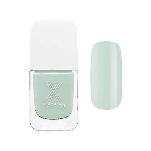 Nail Polish New Neutrals Formula X for Sephora 0.4 Oz Unmistakable - Pastel Jade