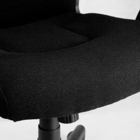 Black Fabric Contoured Seat