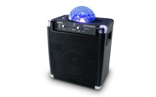 ION Audio ライトショウ機能搭載 Bluetooth ワイヤレススピーカ Party Rocker