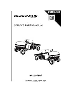 Amazon.com : EZGO 29189G01 2004 Service Parts Manual for