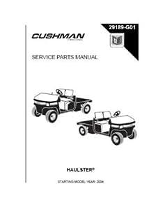 Amazon.com : EZGO 29189G01 2004 Service Parts Manual for