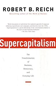 """Cover of """"Supercapitalism: The Transforma..."""