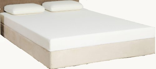 Rio Home Fashions 8 Inch Smooth Top Memory Foam Mattress Queen My