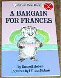 "Cover of ""A Bargain for Frances"""