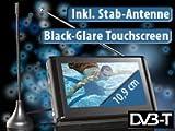 Portally-TV DVB-T-Fernseher DT-4307TRX Touchscreen & Mediaplayer