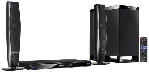 Panasonic SC-BTT362EGK 2.1 3D-Blu-ray Heimkinosystem (WLAN, 2 HDMI Eingänge, digitale iPod/iPhone Dock, SDXC, 2 x USB, 520 Watt) schwarz