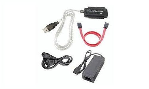 Sabrent USB-DSC5 Serial ATA or IDE 2.5-/3.5-Inch to USB 2.0 Cable Converter Adapter with Power Supply
