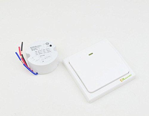 Crelander Self-powered Waterproof Wireless Light Switch