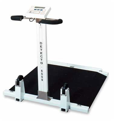 Detecto Portable Folding Wheelchair Scale