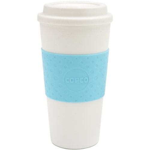 Copco 2510-9917 Acadia Travel Mug, 16-Ounce, Azure Blue