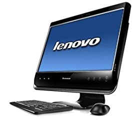 Lenovo C205 77291LU All-In-One 18.5-Inch Desktop (Black)