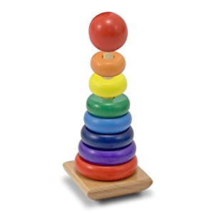 Melissa & Doug Rainbow Stacker