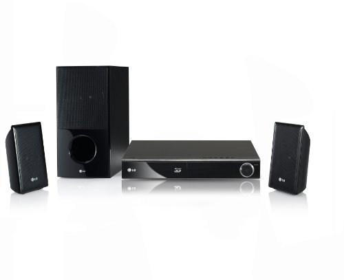 LG HX806CG 3D 2.1 Blu Ray Heimkinosystem (HDMI, DVD, USB 2.0) schwarz
