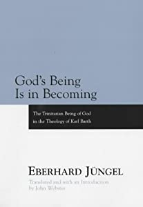 "Cover of ""God's Being is in Becoming: The..."