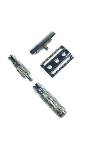Safety Razor Travel Kit with Scissors and Case Health