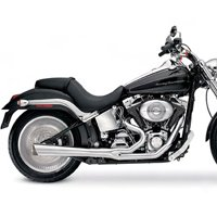 cheap discount buy supertrapp 878 71572 2 into 1 exhaust system for harley davidson softail low price tips store