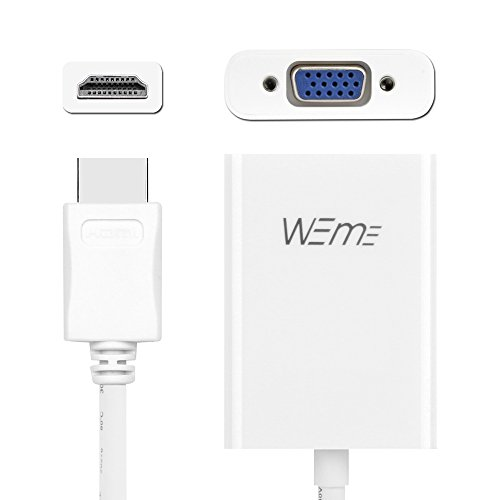WEme Active HDMI to VGA Adapter 1080P Male to Female