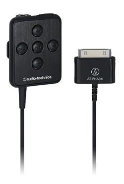 audio-technica iPod/i Phone専用ポータブルヘッドホンアンプ  AT-PHA31i BK