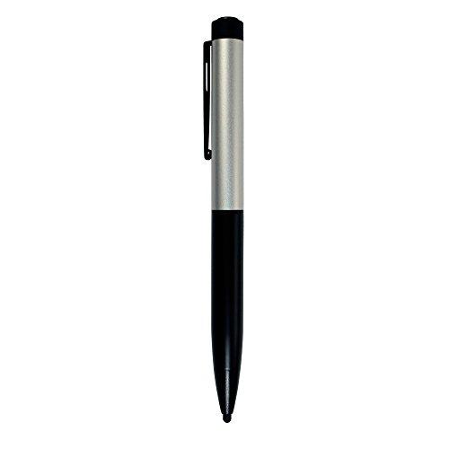 オウルテック 電池式タッチペン ペン先2.6mm 極細 iPhone/iPad/スマートフォン/タブレットPC各種対応 シルバー OWL-TP26BA-SI