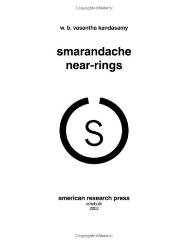 Smarandache Near-rings by W. B. Vasantha Kandasamy