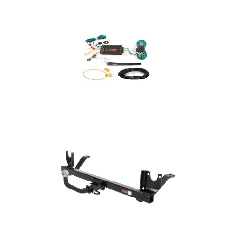 Curt 120252 59146 Trailer Hitch Wiring and Tow Package