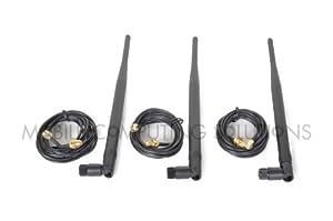 Amazon.com: Ultimate Signal Boosting Kit 3x 9Dbi RP-SMA