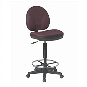 Height Adjustable Drafting Chair with Footrest Fabric
