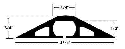 Reusable Cable Ties 30 Pack – 1/2″ x 4″ (Black)