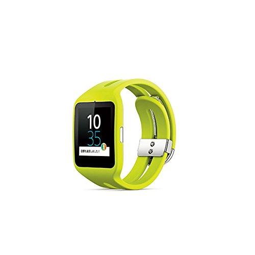 ソニー スマートウォッチ(ライム)SONY SmartWatch 3 Bluetooth4.0 リストバンド型活動量計 SWR50-G