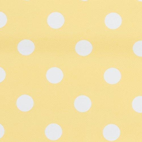 KP92Y Serie Kitchen Princess Farbe gelb Wachstuch Tischdecke 140 x 275 cm