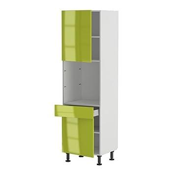 meuble de magasin pas cher atelier du menuisier meuble cuisine colonne four 60 200 4 1 porte 1 tiroir porte bergame
