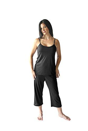 Moisture Wicking Cami Capri Pajama Set