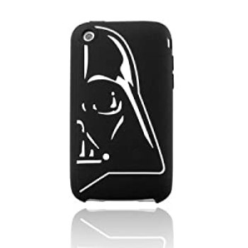 Star Wars Darth Vader Half Helmet IPhone Silicone Skin at Amazon