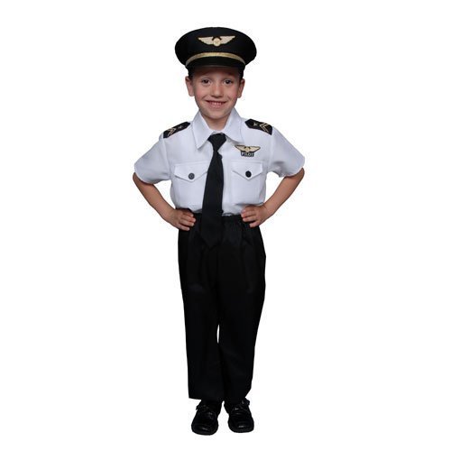 Deluxe Childrens Pilot Costume Set - Toddler