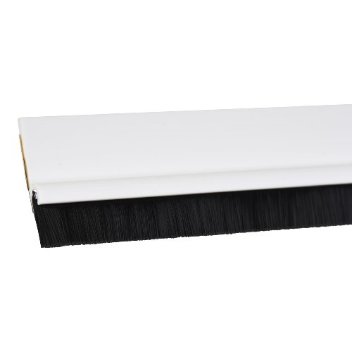 tesa 05433-00100-00 tesamoll Standard Türdichtschiene für glatte Böden weiß