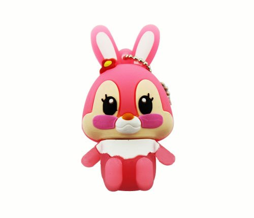 Trust&buy Cartoon Cute Bunny Shape USB Flash Drive Memory Stick Novelty Gift - 8GB