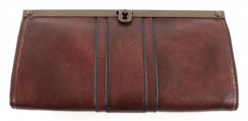 Fossil Vintage Re Issue II Frame Clutch - Brown