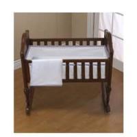 Amazon.com : Forever Mine Cradle Bedding with Lilac Trim ...