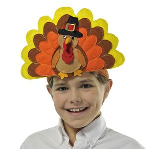 Happy Turkey Day Headband by CoolGlow